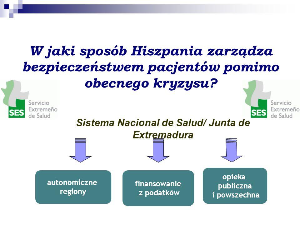 W jaki sposób Hiszpania zarządza bezpieczeństwem pacjentów pomimo obecnego kryzysu.