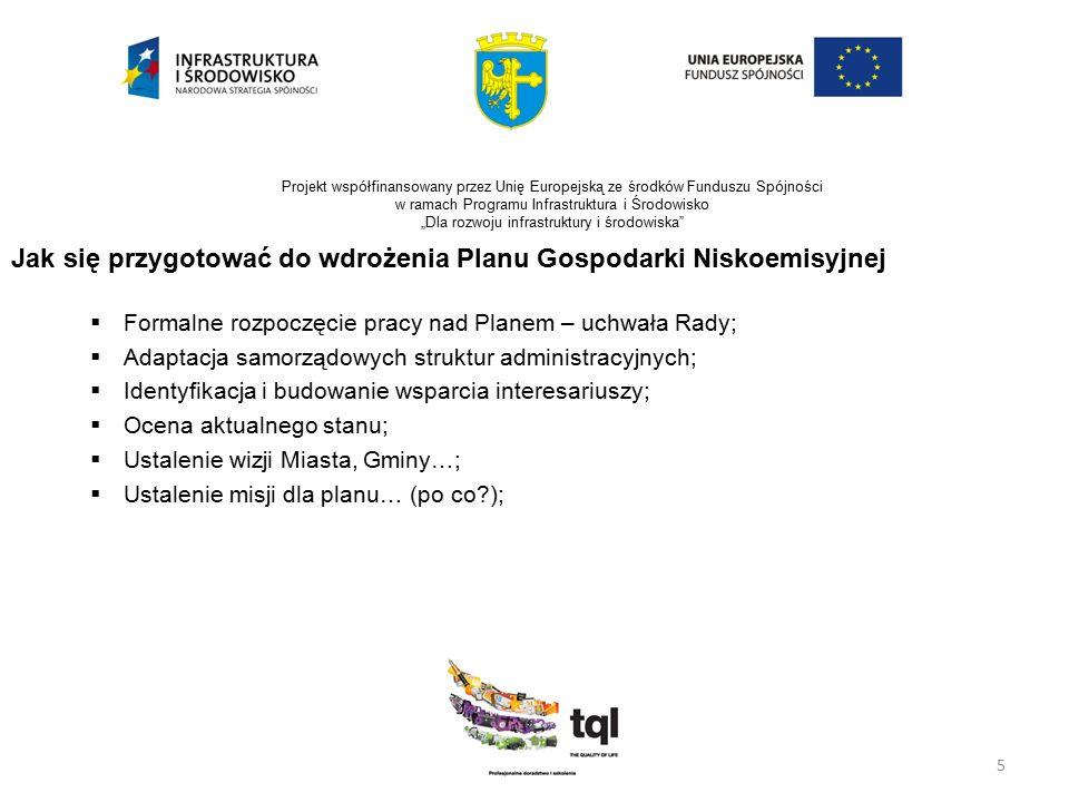 """5 Projekt współfinansowany przez Unię Europejską ze środków Funduszu Spójności w ramach Programu Infrastruktura i Środowisko """"Dla rozwoju infrastruktu"""
