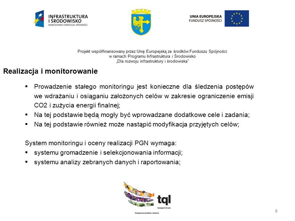 """8 Projekt współfinansowany przez Unię Europejską ze środków Funduszu Spójności w ramach Programu Infrastruktura i Środowisko """"Dla rozwoju infrastruktu"""