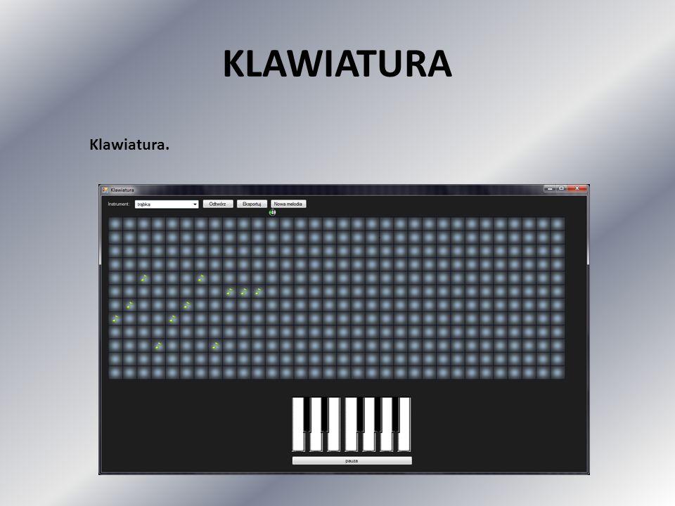KLAWIATURA Klawiatura.
