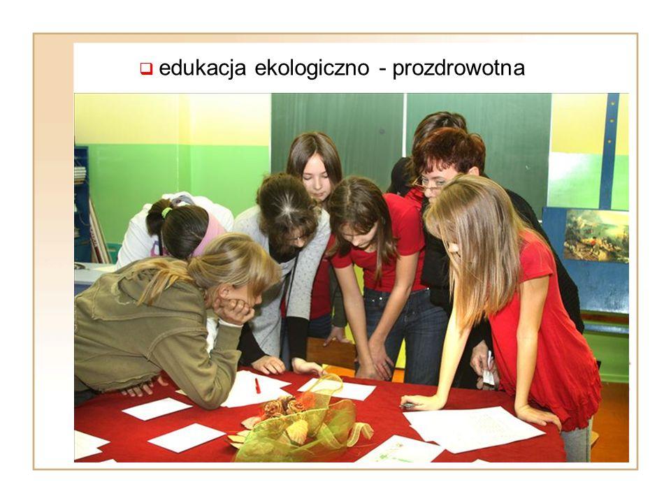  edukacja ekologiczno - prozdrowotna