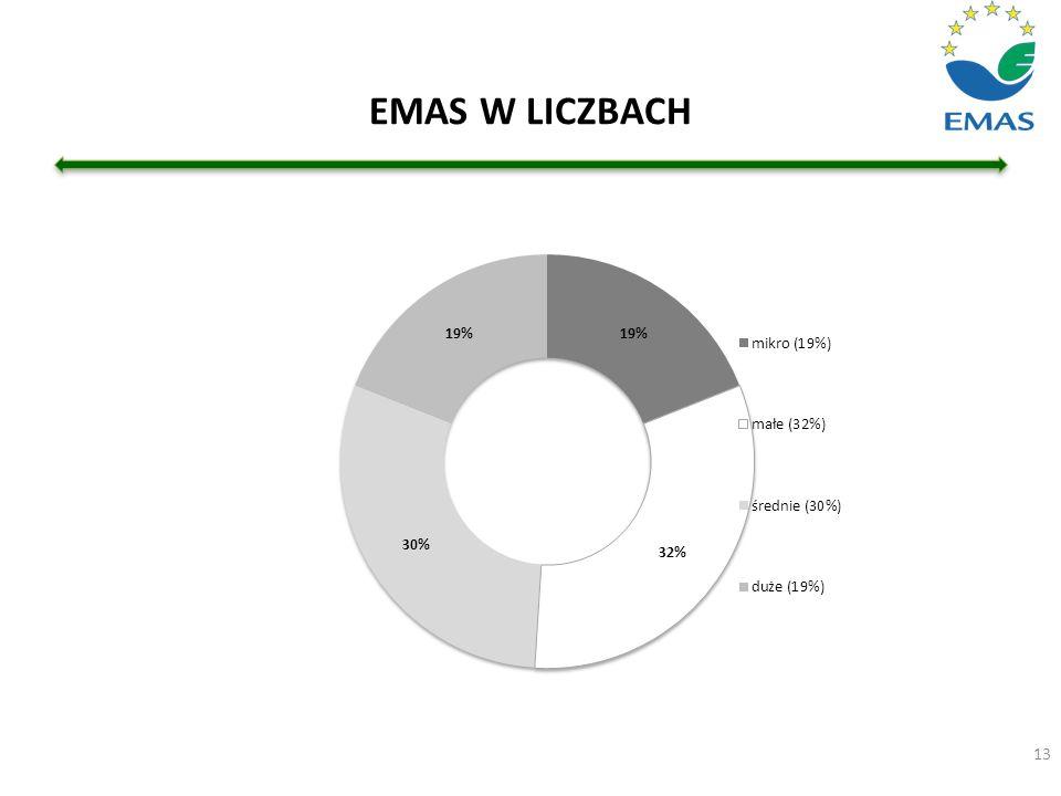 EMAS W LICZBACH 13