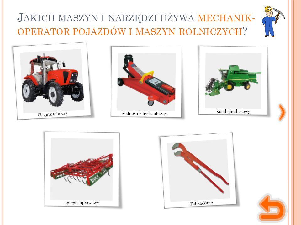 """""""Pojazdy i ciągniki rolnicze , (A.Skrobacki, A. Ekielski), """"Zasady doboru maszyn rolniczych , (A."""