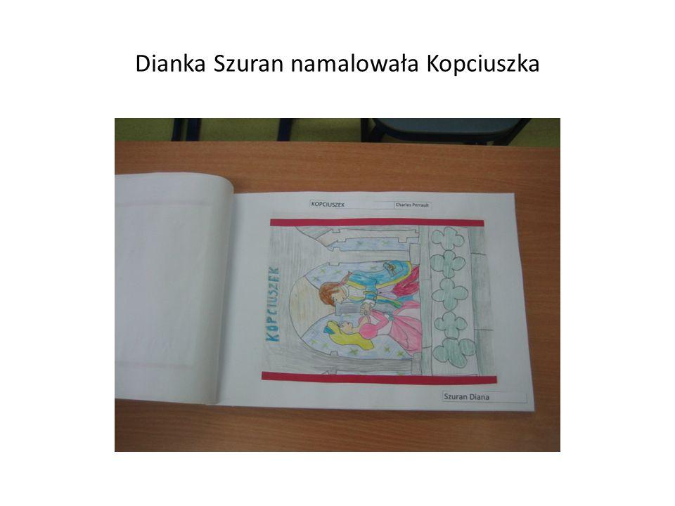 Dianka Szuran namalowała Kopciuszka
