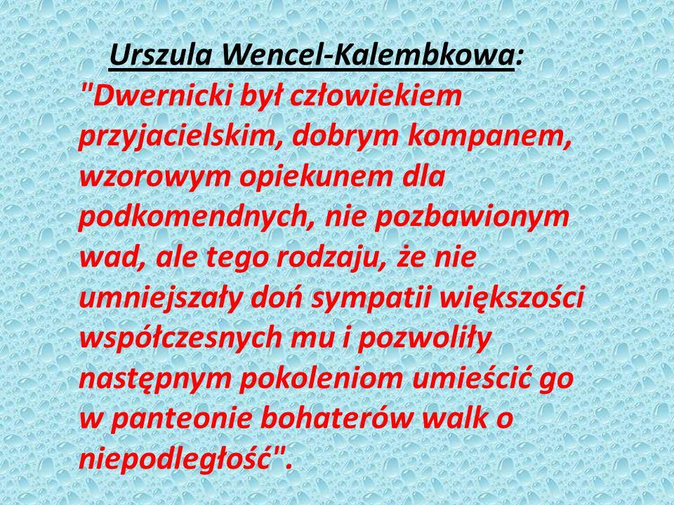 Urszula Wencel-Kalembkowa: