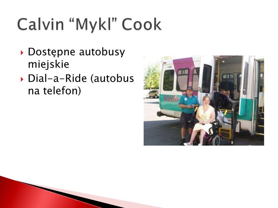  Dostępne autobusy miejskie  Dial-a-Ride (autobus na telefon)