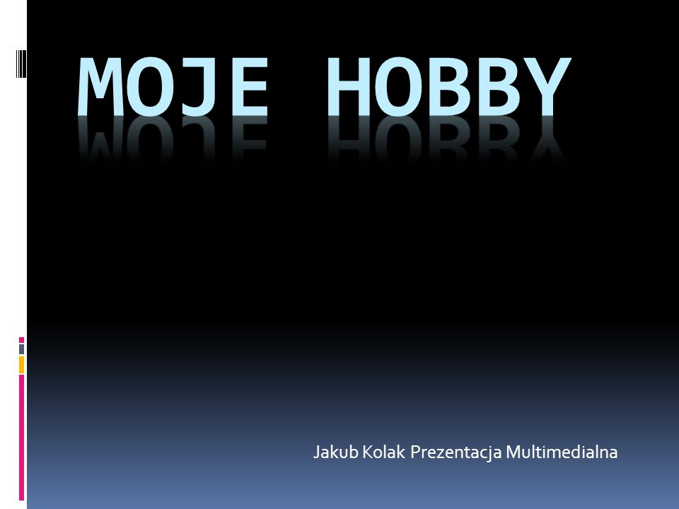 Jakub Kolak Prezentacja Multimedialna
