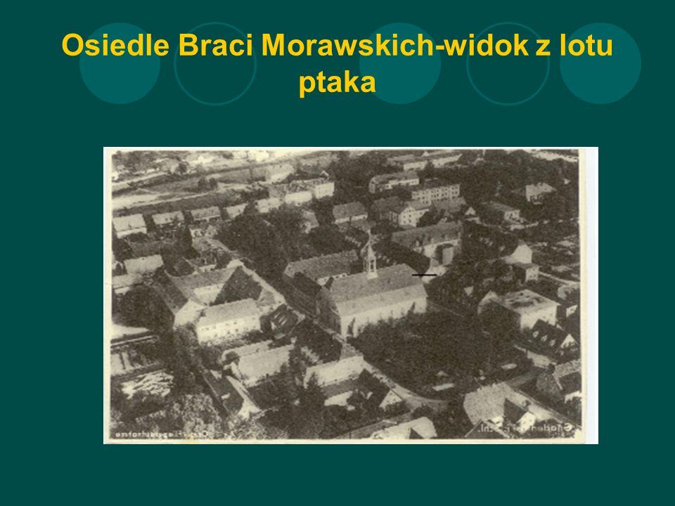 Osiedle Braci Morawskich-widok z lotu ptaka