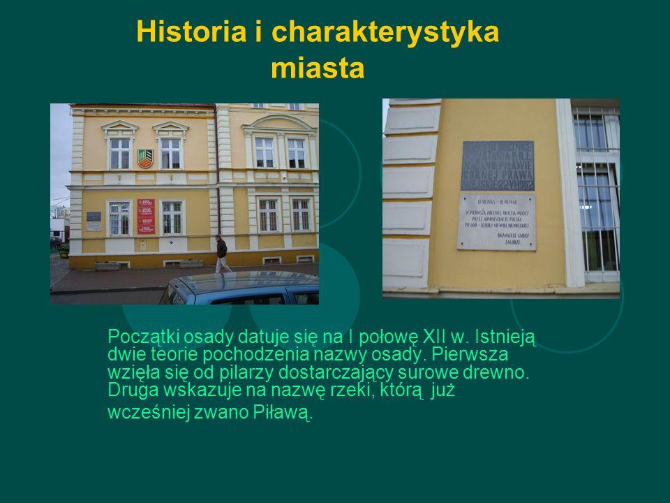 Historia i charakterystyka miasta Początki osady datuje się na I połowę XII w.