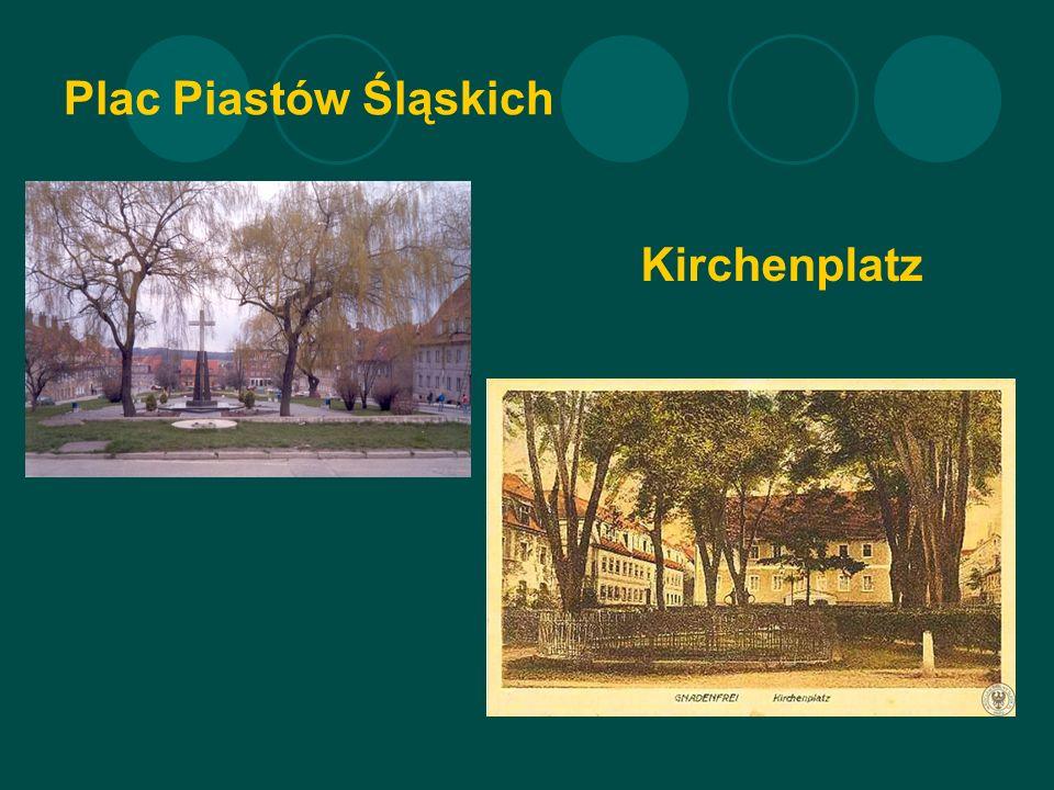 Plac Piastów Śląskich Kirchenplatz