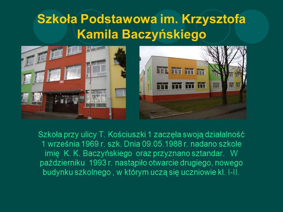 Szkoła Podstawowa im. Krzysztofa Kamila Baczyńskiego Szkoła przy ulicy T.