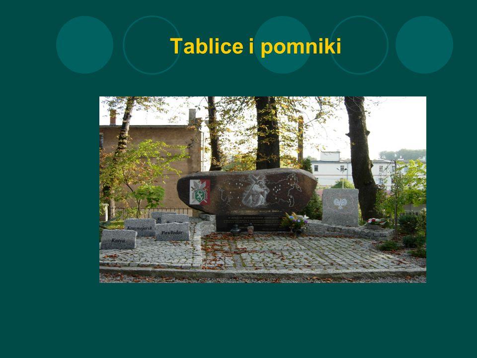 Tablice i pomniki