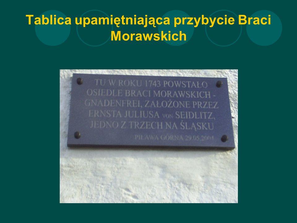 Tablica upamiętniająca przybycie Braci Morawskich