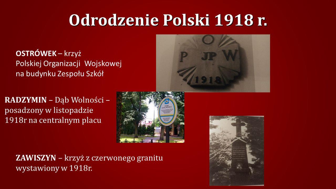 Odrodzenie Polski 1918 r.
