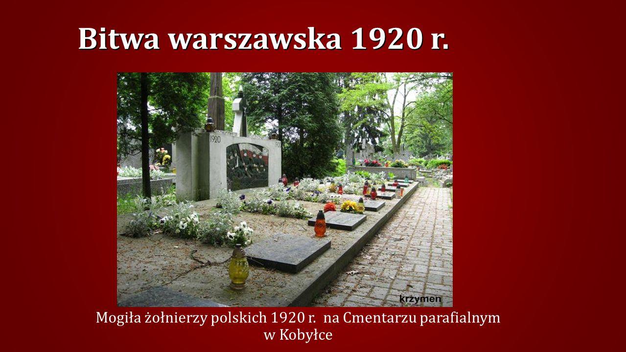 JÓZEFÓW – Grób Nieznanego Żołnierza 1920r.