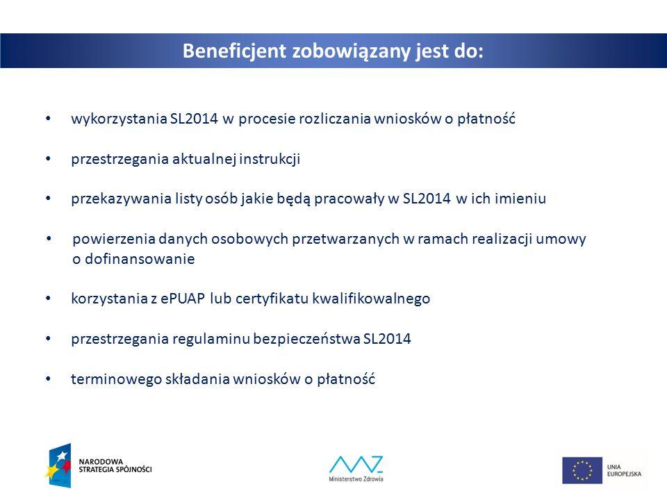 26 UWAGA: Dokumenty źródłowe przekazywane są tylko i wyłącznie gdy wartość wydatków ponoszonych w projekcie z dofinansowania EFS przekracza próg unijny.