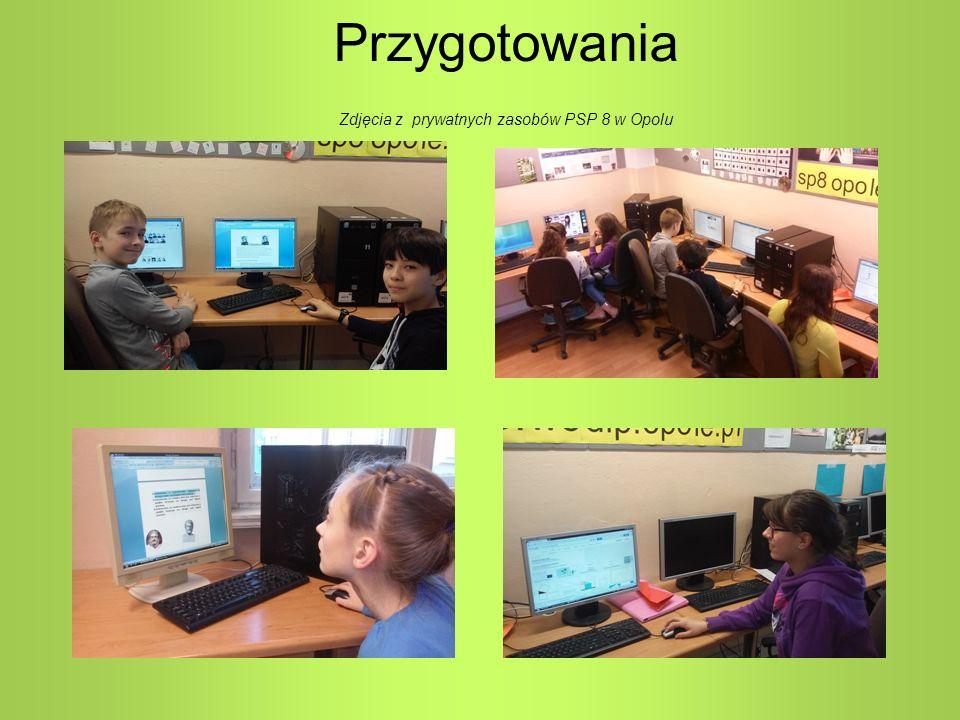 Przygotowania Zdjęcia z prywatnych zasobów PSP 8 w Opolu
