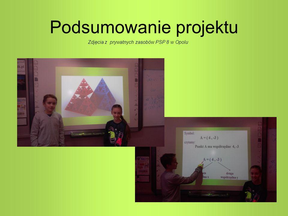 Podsumowanie projektu Zdjęcia z prywatnych zasobów PSP 8 w Opolu