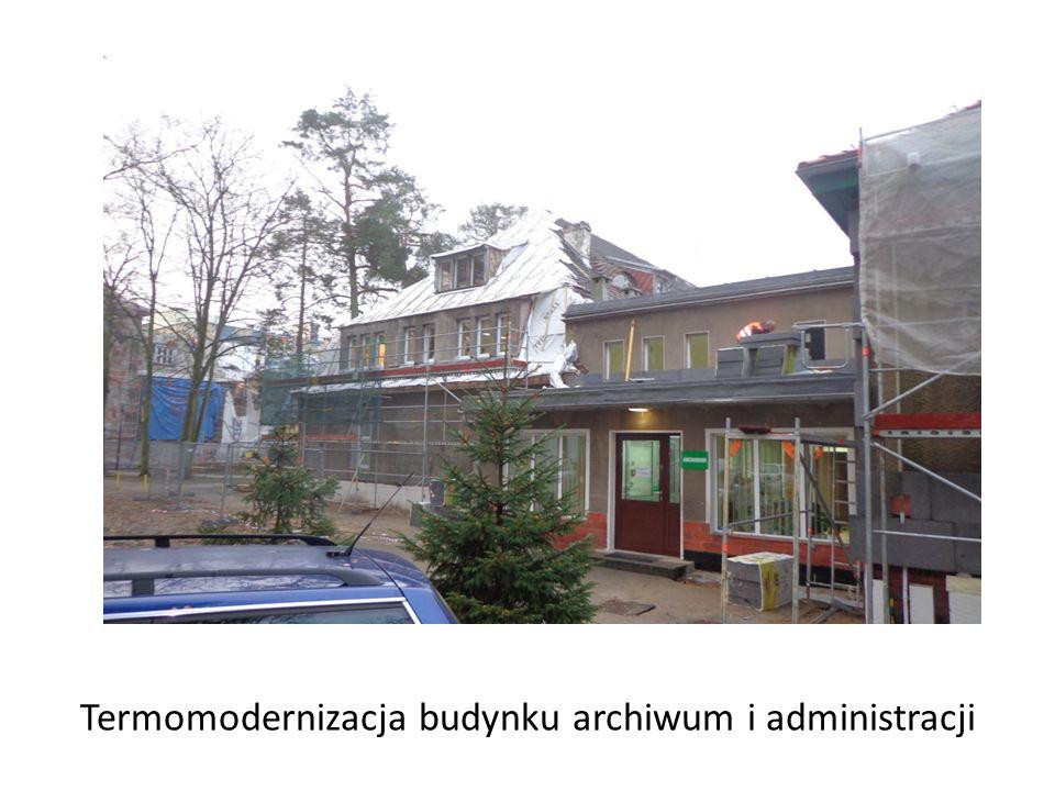 Termomodernizacja budynku archiwum i administracji