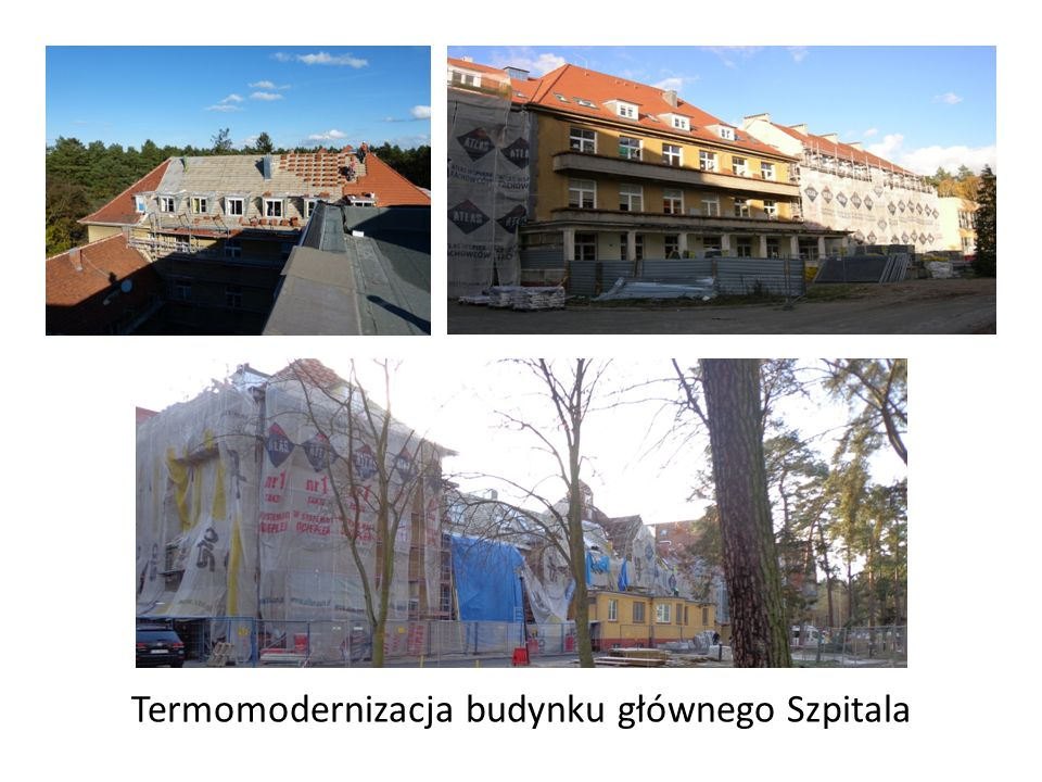 Termomodernizacja budynku głównego Szpitala