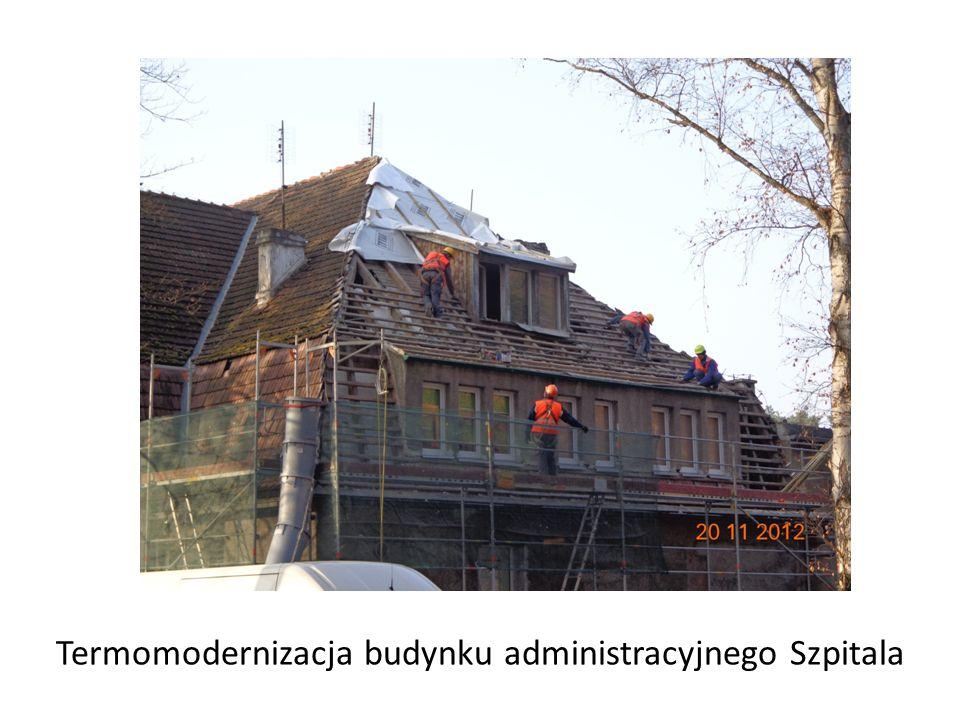 Termomodernizacja budynku administracyjnego Szpitala