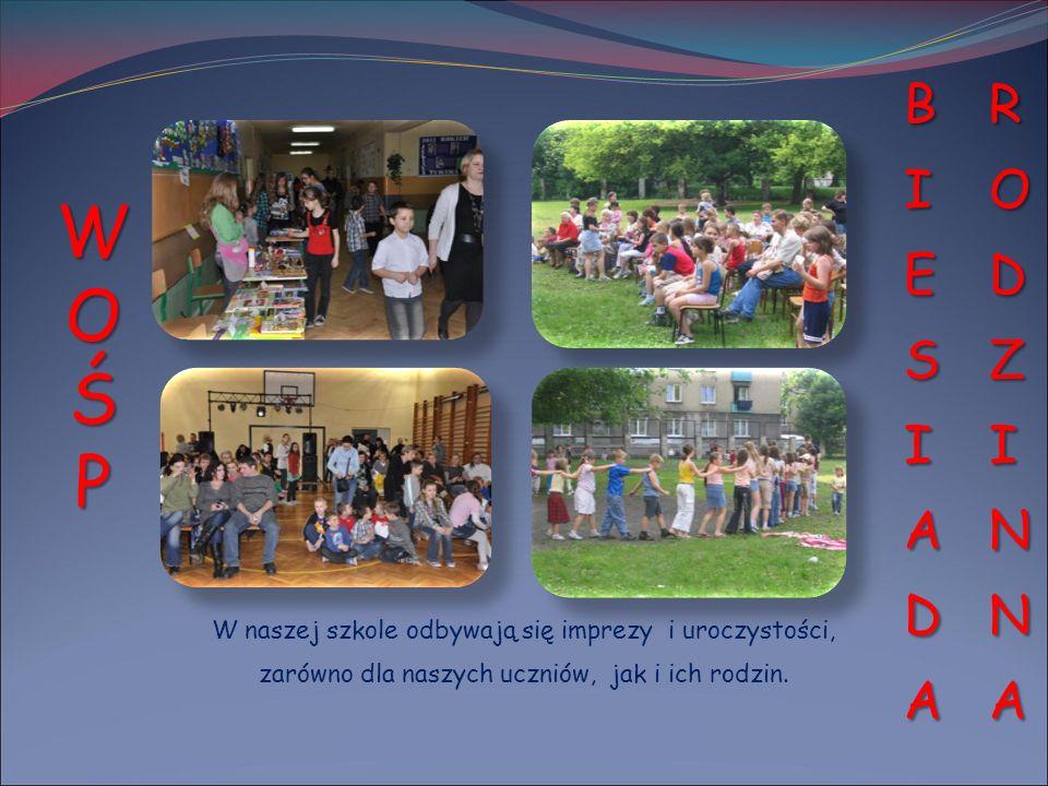 W naszej szkole odbywają się imprezy i uroczystości, zarówno dla naszych uczniów, jak i ich rodzin. WOŚPWOŚPWOŚPWOŚP