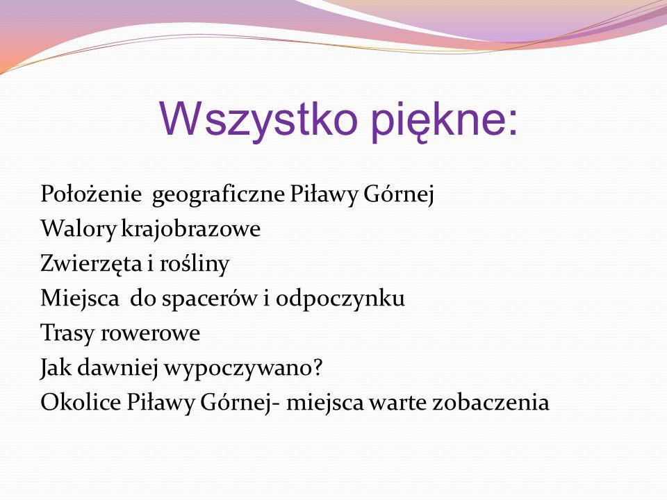 Ścieżki przyrodnicze Bogate walory przyrodnicze występujące na terenie całego powiatu dzierżoniowskiego można poznawać także dzięki wytyczonym ścieżkom edukacyjno – przyrodniczym.