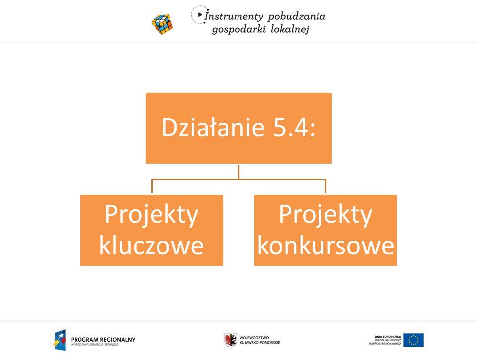 Działanie 5.4: Projekty kluczowe Projekty konkursowe