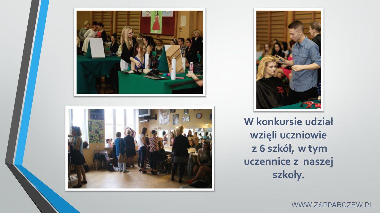 W konkursie udział wzięli uczniowie z 6 szkół, w tym uczennice z naszej szkoły. WWW.ZSPPARCZEW.PL