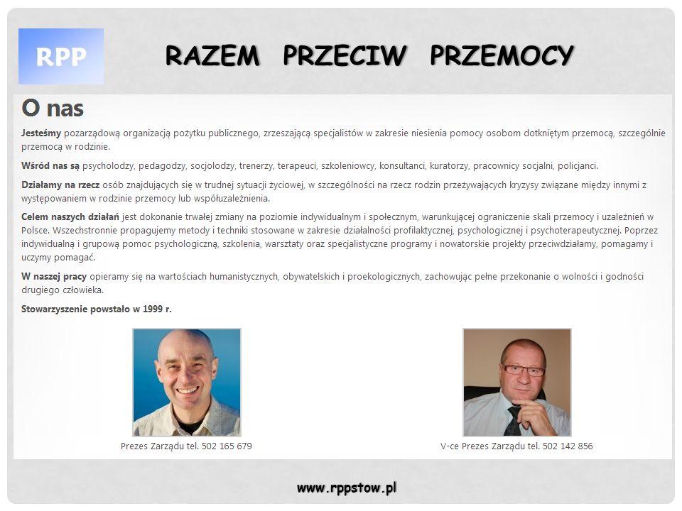 RAZEM PRZECIW PRZEMOCY RAZEM PRZECIW PRZEMOCYZbiórka 18.07.2016 r.