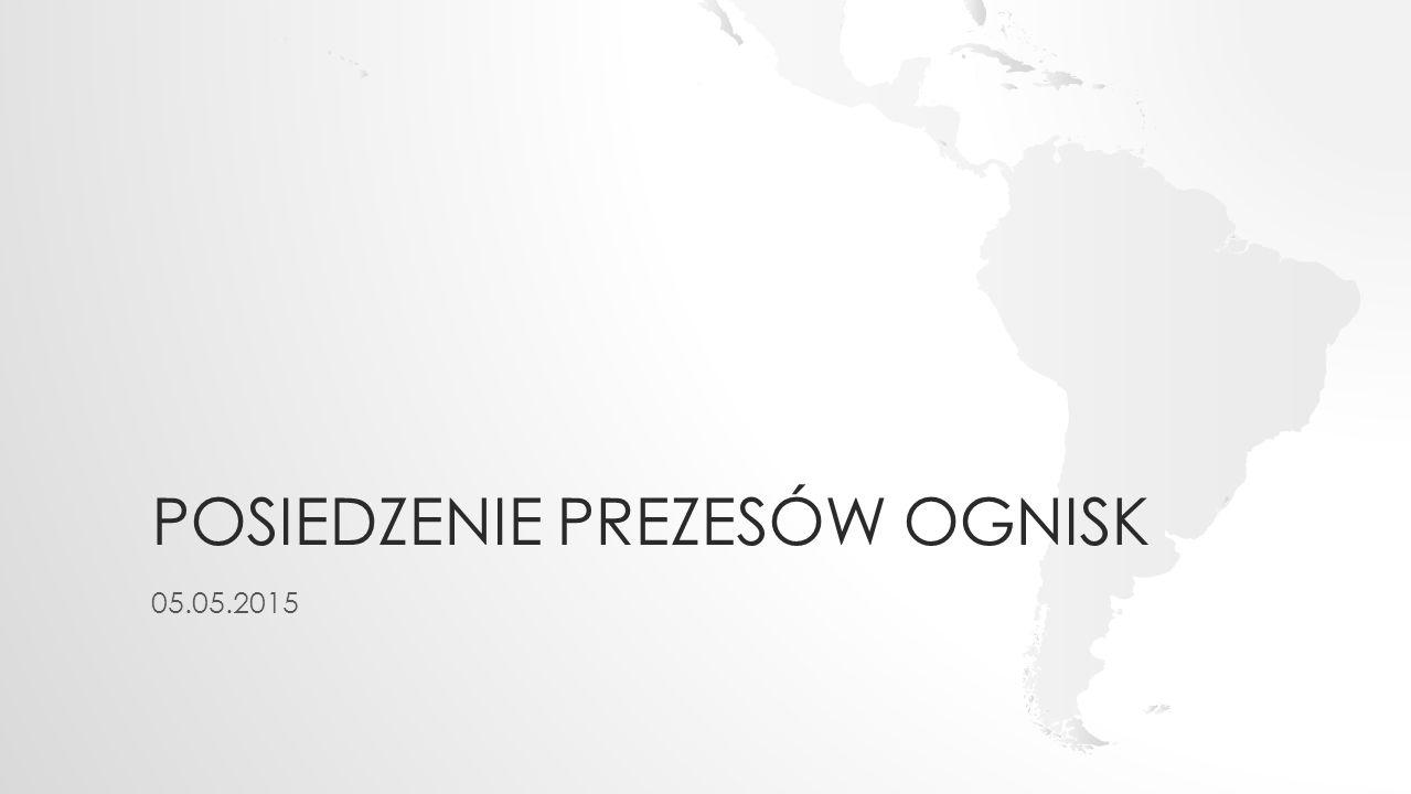 POSIEDZENIE PREZESÓW OGNISK 05.05.2015