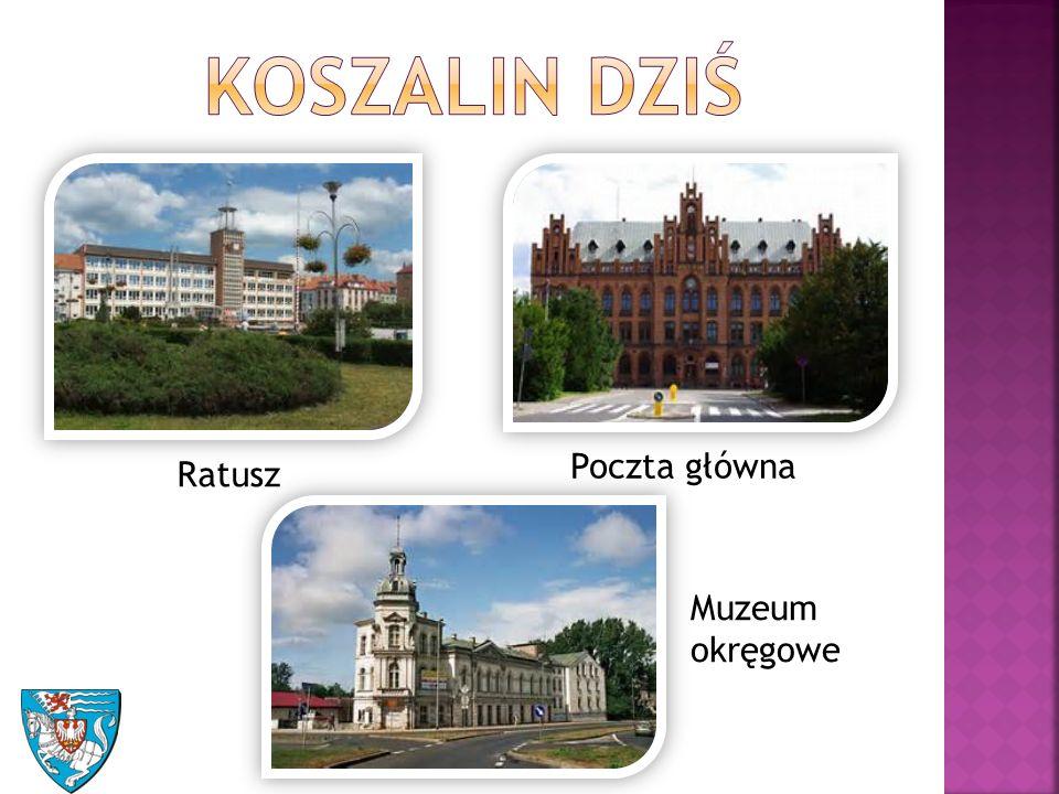 Ratusz Poczta główna Muzeum okręgowe