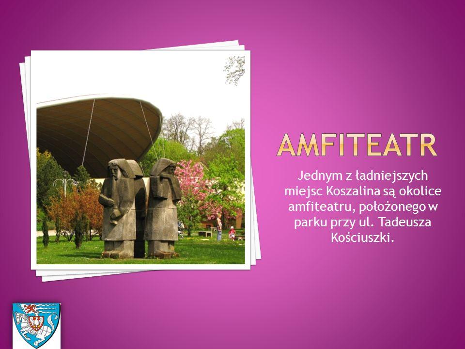 Jednym z ładniejszych miejsc Koszalina są okolice amfiteatru, położonego w parku przy ul.