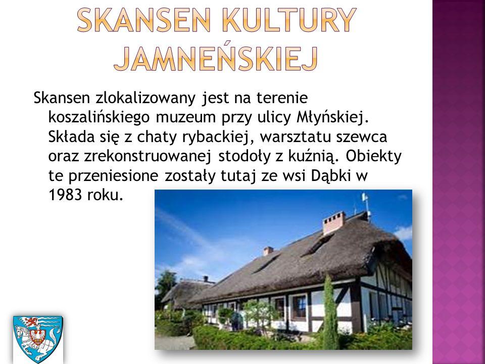 Skansen zlokalizowany jest na terenie koszalińskiego muzeum przy ulicy Młyńskiej.