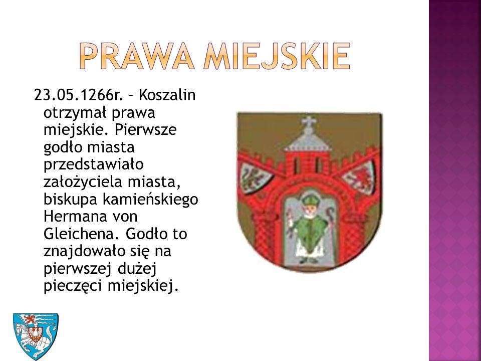 23.05.1266r. – Koszalin otrzymał prawa miejskie.