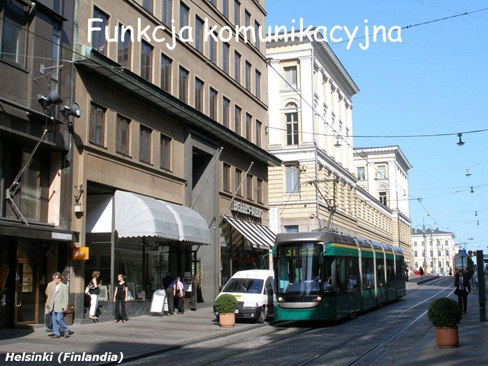 Funkcja komunikacyjna Helsinki (Finlandia)