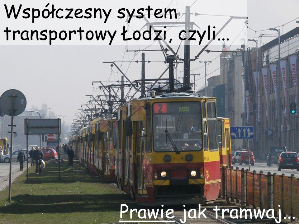 Współczesny system transportowy Łodzi, czyli... Prawie jak tramwaj...