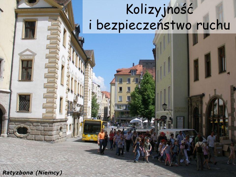 Kolizyjność i bezpieczeństwo ruchu Ratyzbona (Niemcy)