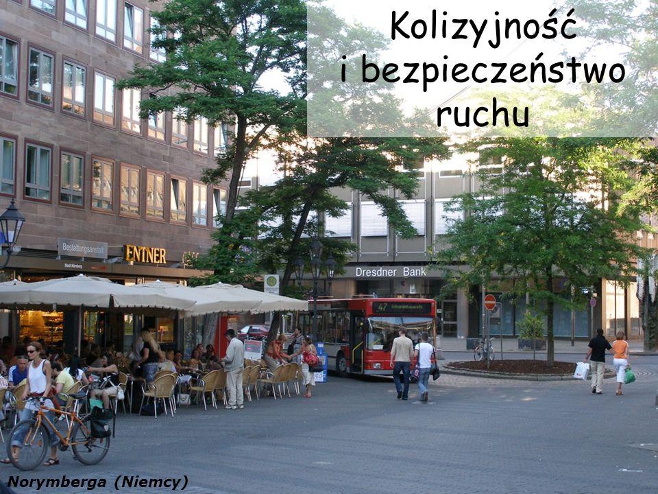 Kolizyjność i bezpieczeństwo ruchu Norymberga (Niemcy)