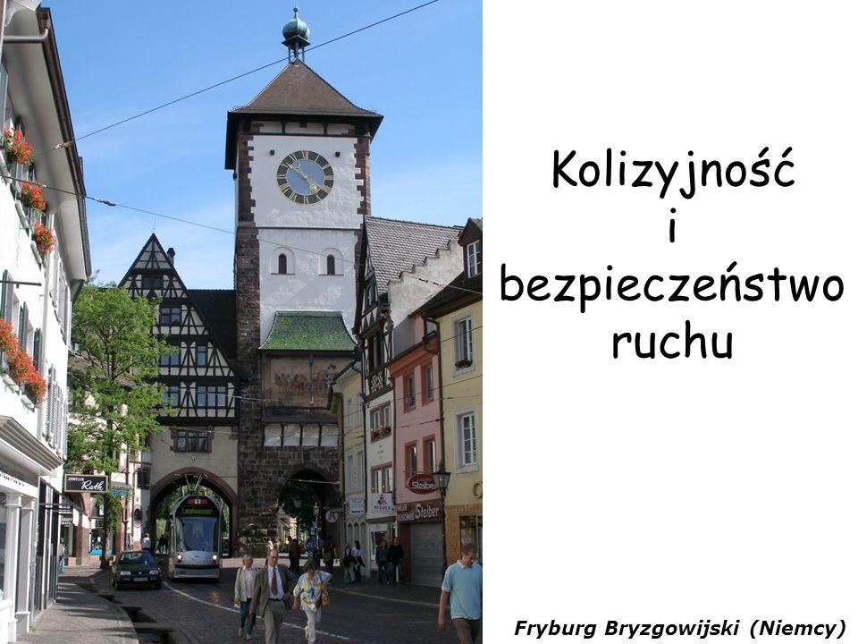 Kolizyjność i bezpieczeństwo ruchu Fryburg Bryzgowijski (Niemcy)
