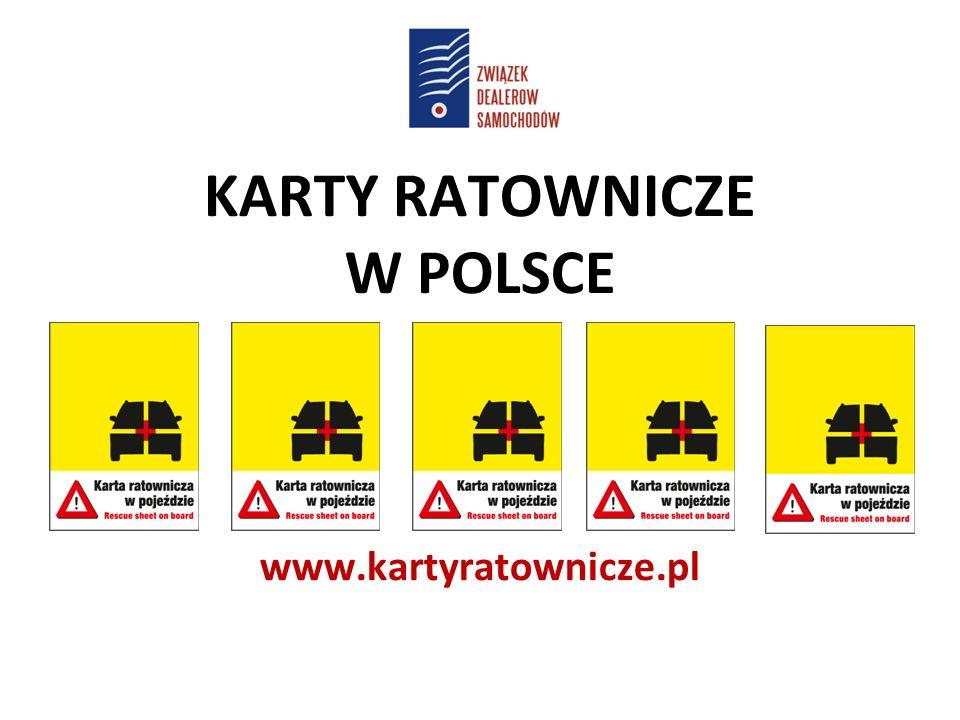 KARTY RATOWNICZE W POLSCE www.kartyratownicze.pl
