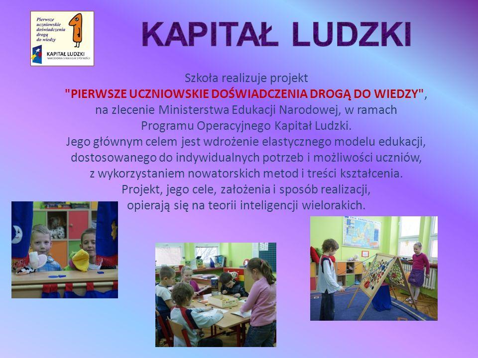 Szkoła realizuje projekt