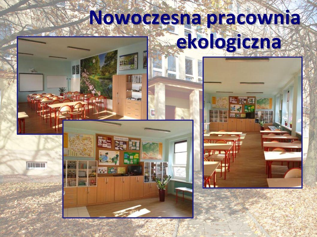 Nowoczesna pracownia ekologiczna Nowoczesna pracownia ekologiczna