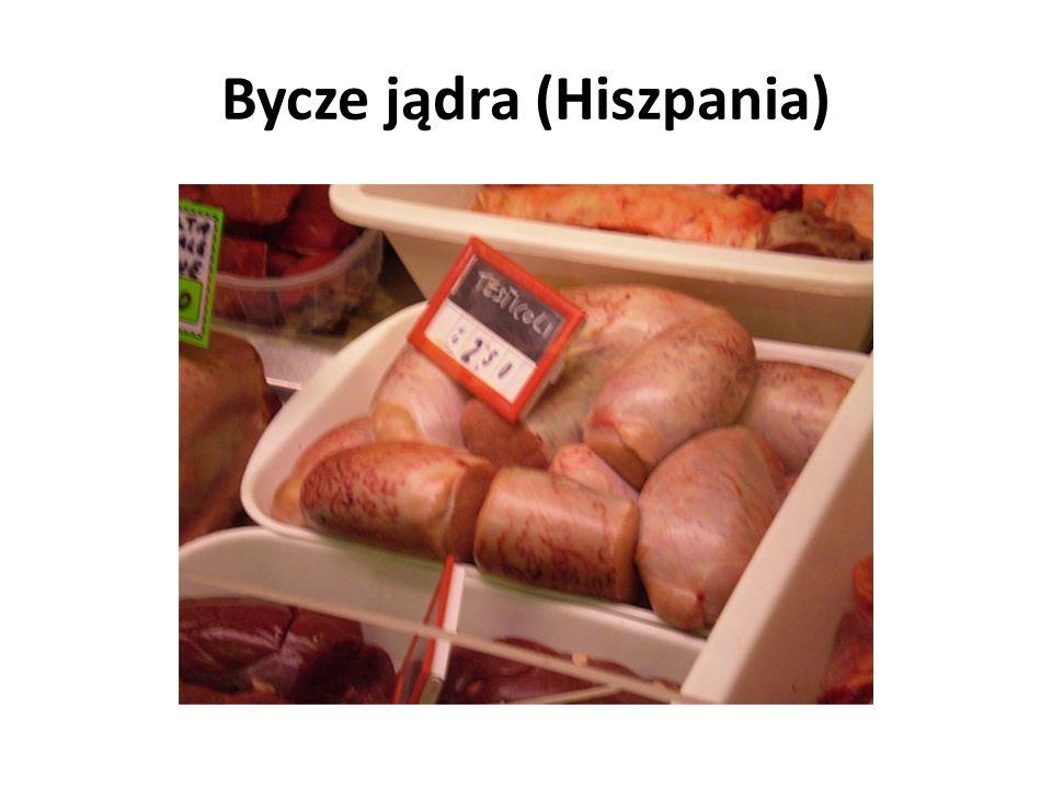 Bycze jądra (Hiszpania)