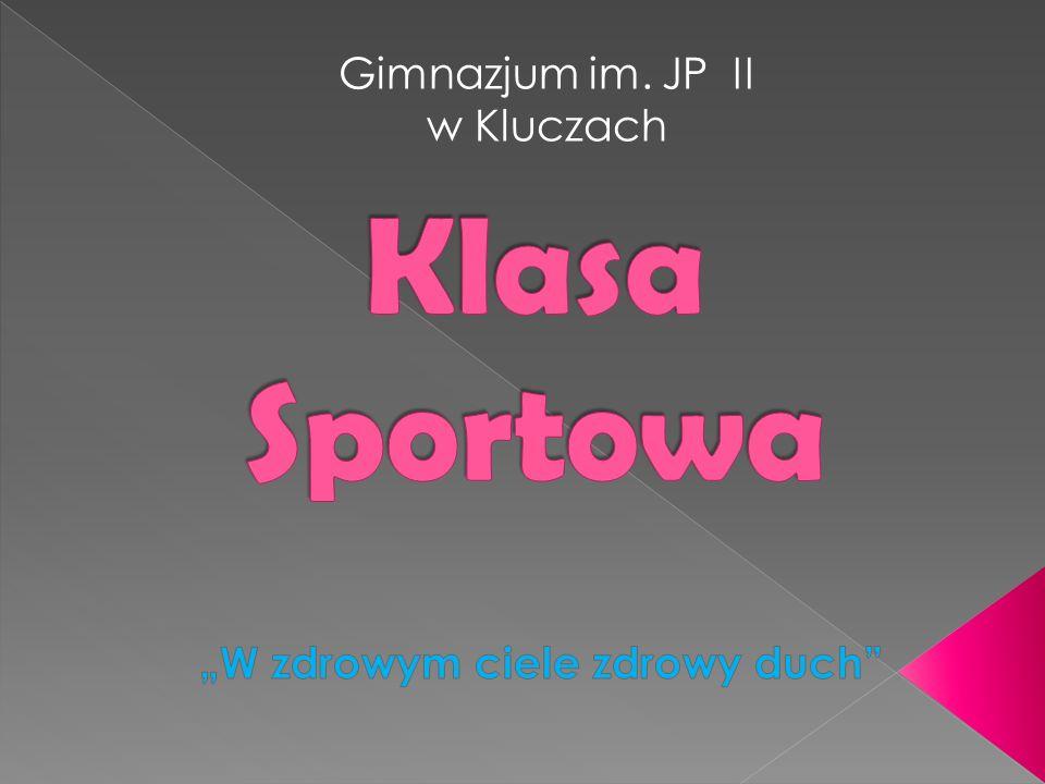 Gimnazjum im. JP II w Kluczach