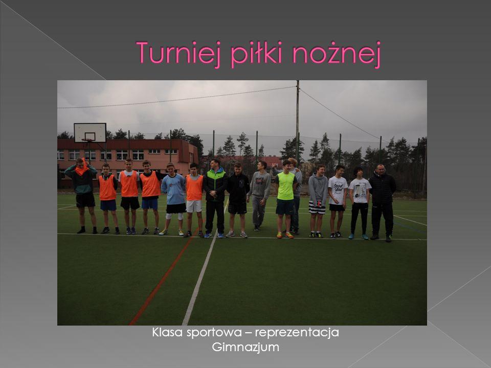 Klasa sportowa – reprezentacja Gimnazjum