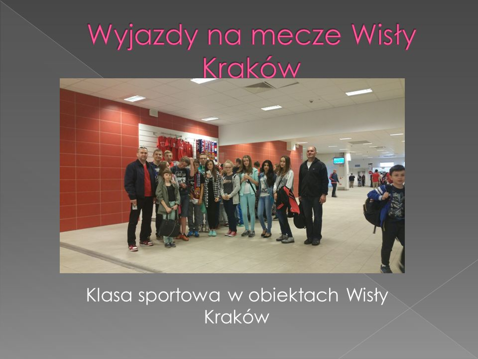 Klasa sportowa w obiektach Wisły Kraków
