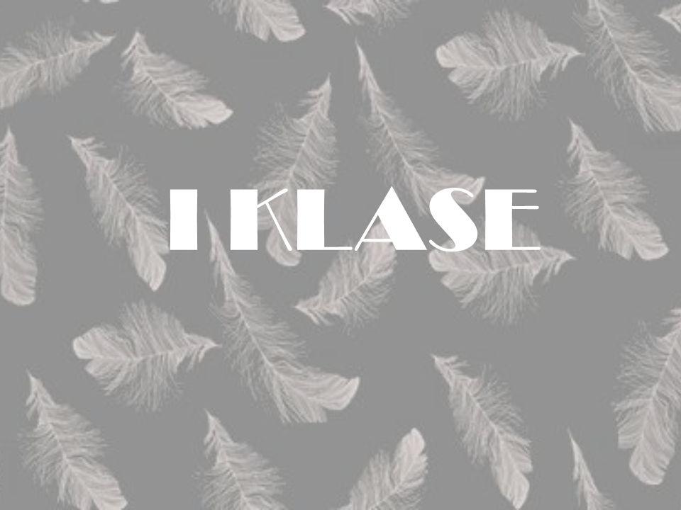 I KLASE