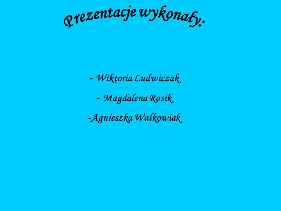 - Wiktoria Ludwiczak - Magdalena Rosik - Agnieszka Walkowiak
