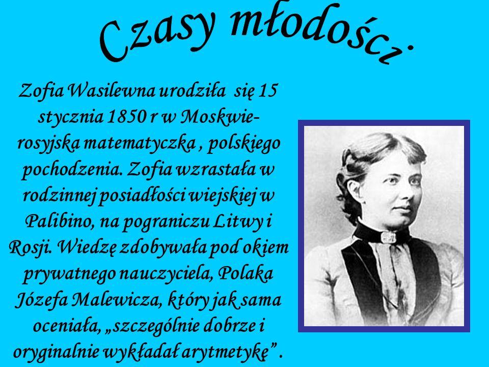 Jej ojciec Wasilij był generałem artylerii, przyznającym się do węgiersko-polskich przodków, matka zaś, Eliza Schubert, miała niemieckie korzenie.